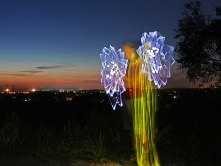 Lightpainting Rosdorf 2019